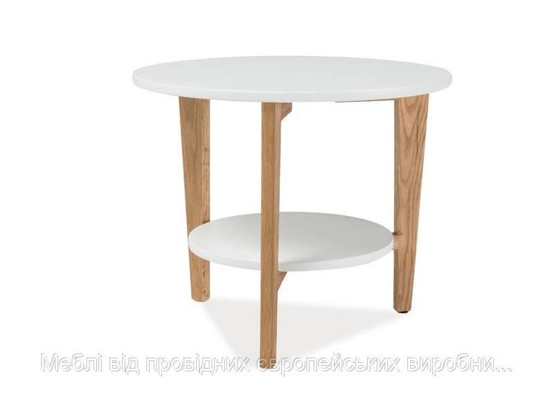 Журнальный столик Larvik D деревянный SIGNAL