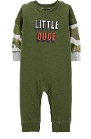 """Комбинезон Картерс хлопковый на мальчика """"Маленький паренёк"""" 3м,6м,18м"""