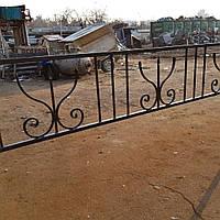 Оградка на кладбище кованая арт.рт16, фото 1