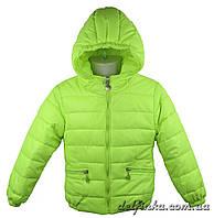 Куртка демисезонная для мальчика 1310, р. 74-98, возраст 1-3 года, салатовый, фото 1