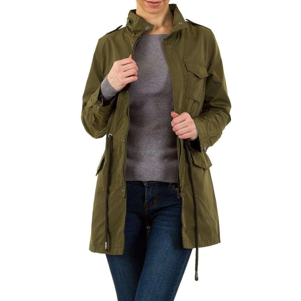 Парка женская с накладными карманами  Daysie Jeans (Франция), Хаки