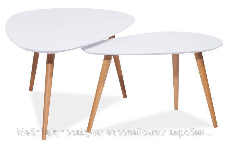 Журнальный столик Nolan B  SIGNAL (3 цвета) в комплекте 2 столика