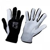 Рабочие перчатки кожаные, LahtiPro 2707