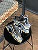 """Женские кроссовки Balenciaga Triple S """"Gray"""" в стиле Баленсиага), фото 4"""
