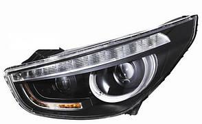 Hyundai IX35 оптика передняя черная