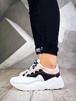 709333213 36 размер! Женские кроссовки на скрытой платформе PP черный с ...
