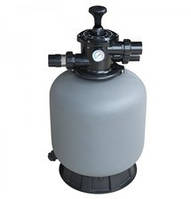 Фильтр EMAUX из термоустойчивого пластика с верхним подключением серии P (P350, 4.32 м. куб./ч )