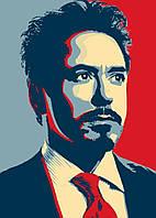 Картина GeekLand Iron Man Железный Человек Тони Старк 40х60см IM.09.142