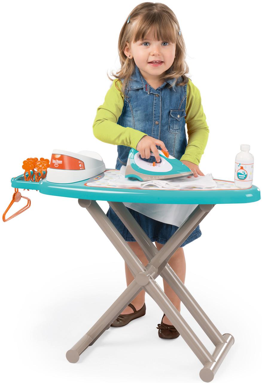 Гладильная доска детская с аксессуарами Smoby 330118