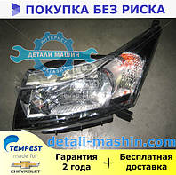 Фара левая электрическа Н4 + Мотор Шевролет Круз (TEMPEST) CHEVROLET CRUZE