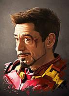 Картина GeekLand Iron Man Железный Человек Тони Старк 40х60см IM.09.145