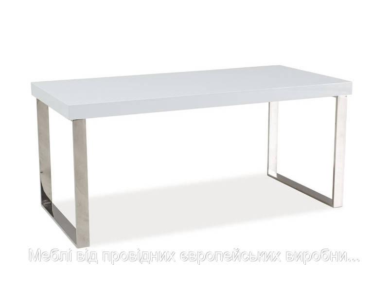 Журнальный столик Rosa белый лак SIGNAL