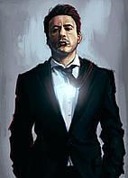Картина GeekLand Iron Man Железный Человек Тони Старк 40х60см IM.09.146