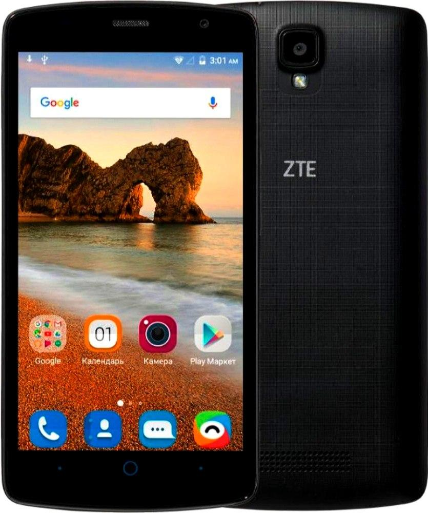 Смартфон ZTE Blade L5 Plus 1/8Gb Black Камера 8/2 МП