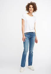 Джинсы женские голубыее Sissy Straight от Mustang jeans в размере W27/L32