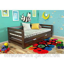Деревянная кровать Немо с ящиками 1985*870*637