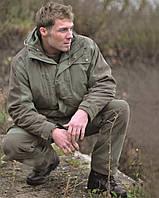 Парка охотничья с флисовой подкладкой, green