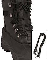 Шнурки черные 220 см