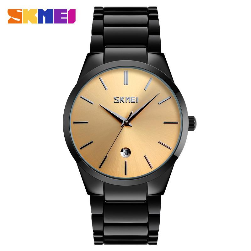 SKMEI 9140 BLACK GOLD
