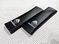 Накладка на ремінь безпеки для RENAULT BLACK