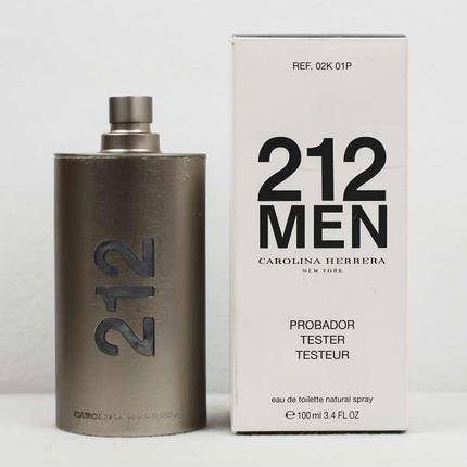 Мужская туалетная вода Carolina Herrera 212 Men EDT 100 ml TESTER, фото 2