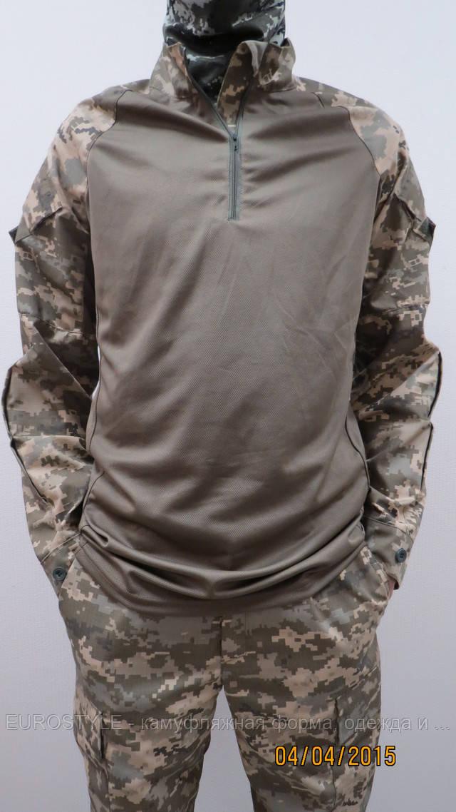 Тактическая рубашка убакс украинская цыфра (пиксель)