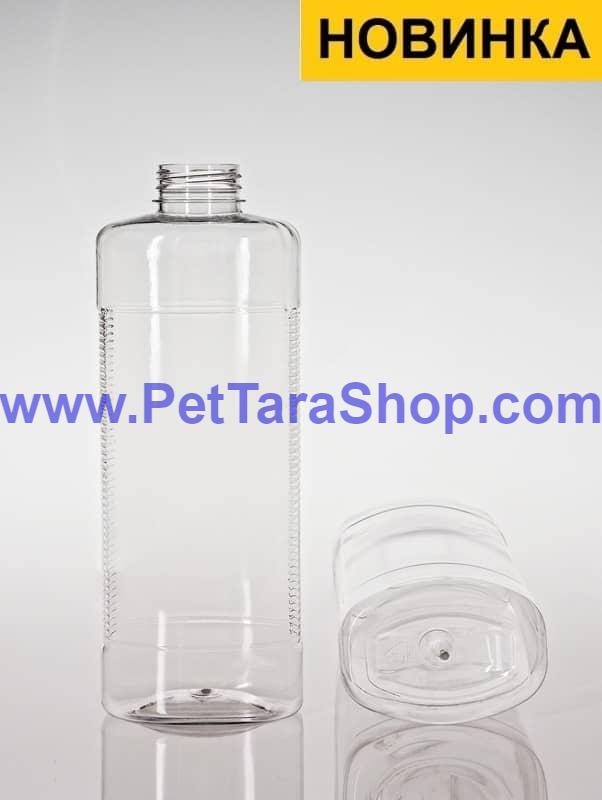 Пластикова Пляшка ПЕТ 1л з кришкою