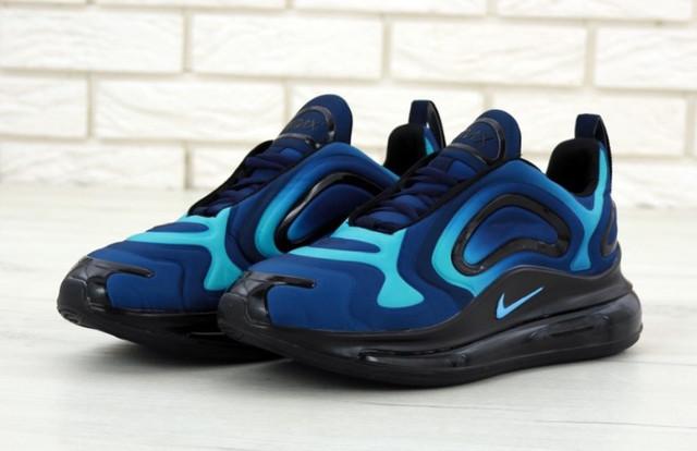 90ffdb09 Кроссовки мужские синие весенние модные Найк Air Max 720 Найк Аир Макс 720  новинка 2019. Кроссовки Найк 720