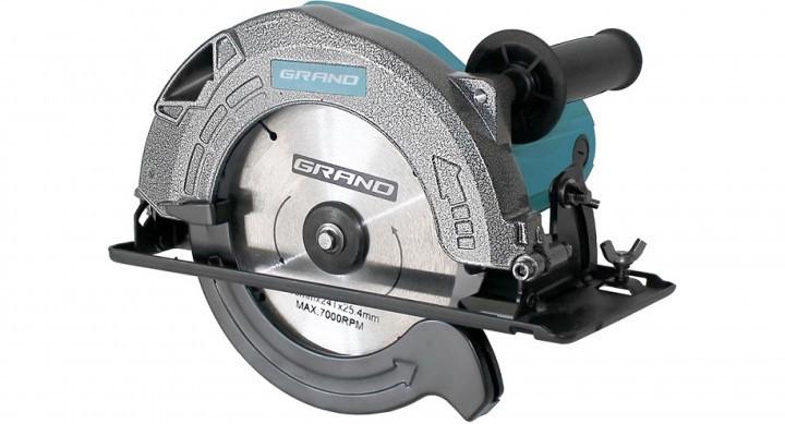 Пила дисковая GRAND ПД-185-2150