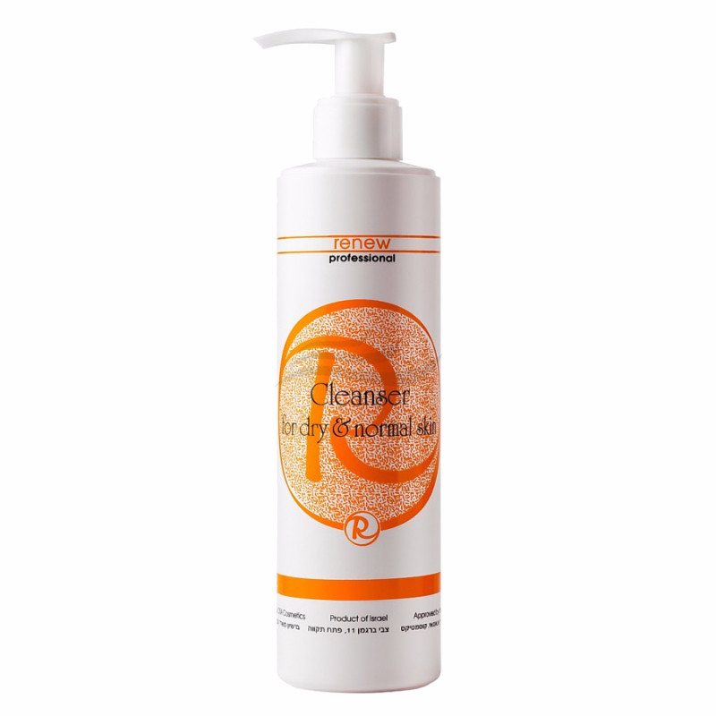 Cleanser for Dry and Normal Skin / Очищуючий гель для нормальної та сухої шкіри