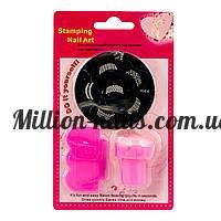 Набор для стемпинга Stamping Nail Art mini