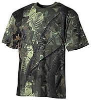 Камуфлированная футболка hunter green, Max Fuchs