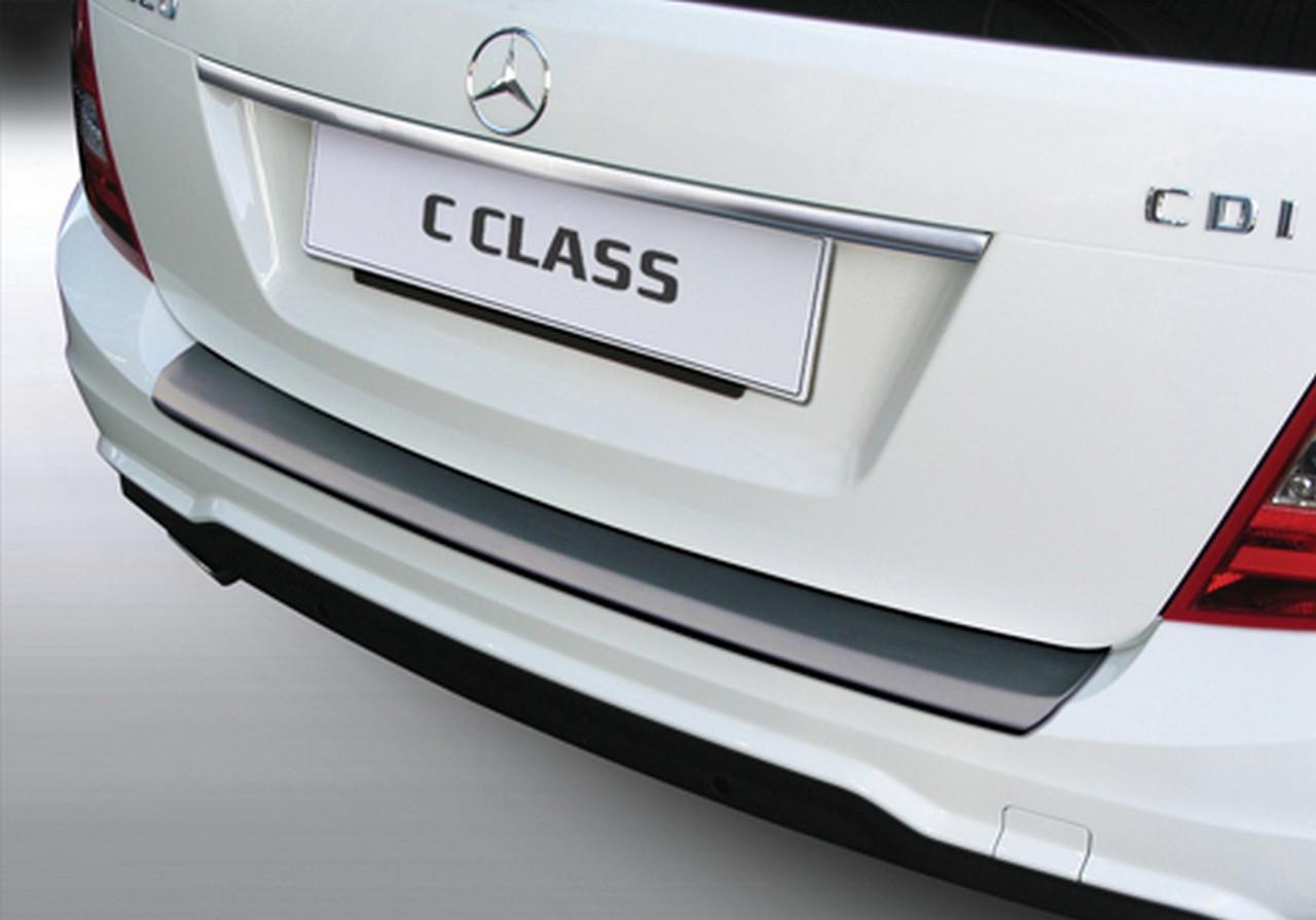rbp586 Mercedes-Benz C-Class W204T Touring 2011-2014 rear bumper protector