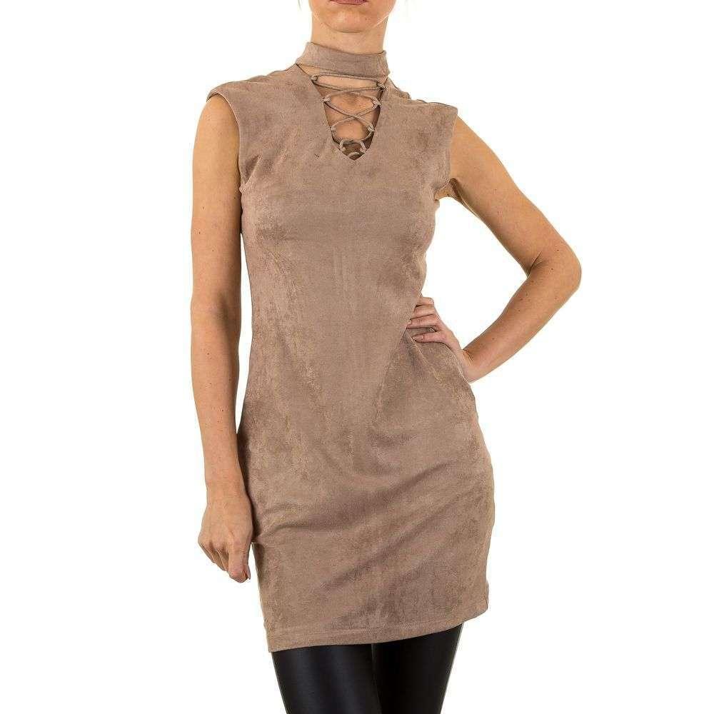 Женское платье Noemi Kent Paris - хаки - KL-WJ-7617-хаки