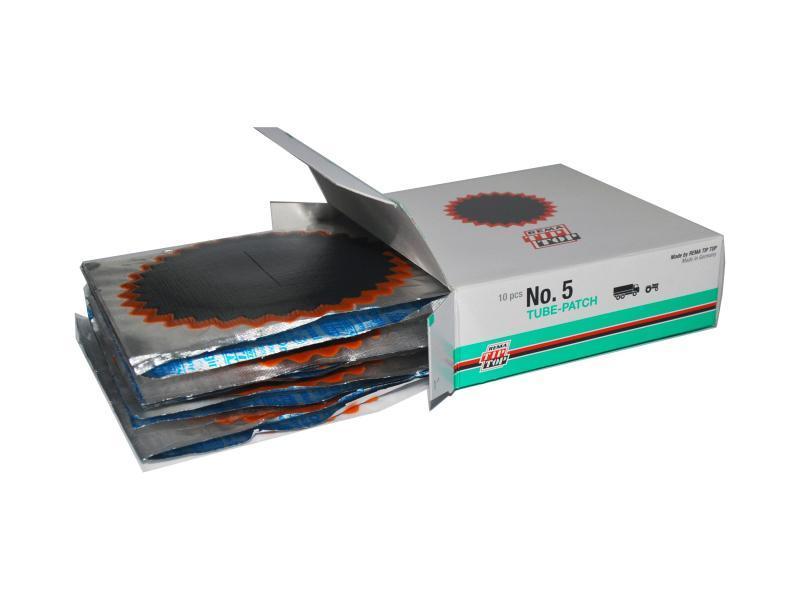 Латки камерные №5 упаковка 10 шт. Rema Tip-Top 5007101 (Германия)
