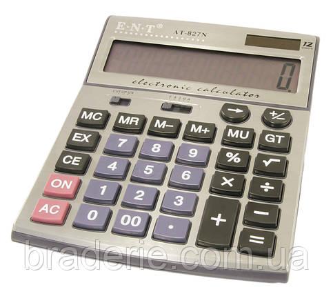 Калькулятор настольный ENT AT 827N, фото 2