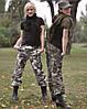 Брюки женские BDU США Rip-Stop, woodland
