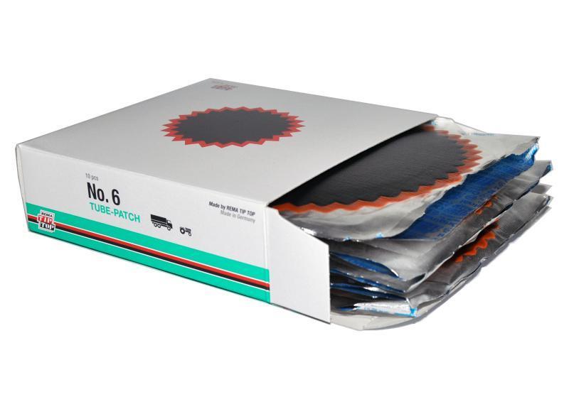 Латки камерные №6 упаковка 10 шт. Rema Tip-Top 5007125 (Германия)