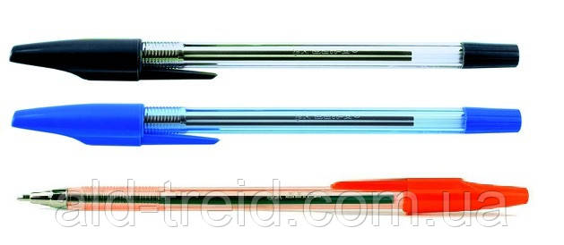 Ручка шариковая beifa AA927 красная