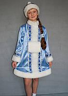 Карнавальний костюм Снігуронька №1/1 (блакитний), фото 1