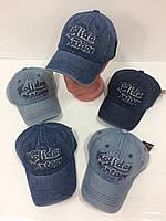 Детские джинсовые кепки для мальчиков, р.52 Китай (Capri Corn), фото 1