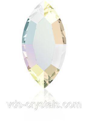 Камни Сваровски для украшения ногтей 2200 Crystal AB 4x2 мм