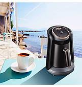 Кофемашина для турецкого кофе Arzum Okka Minio черная c бронзовой отделкой