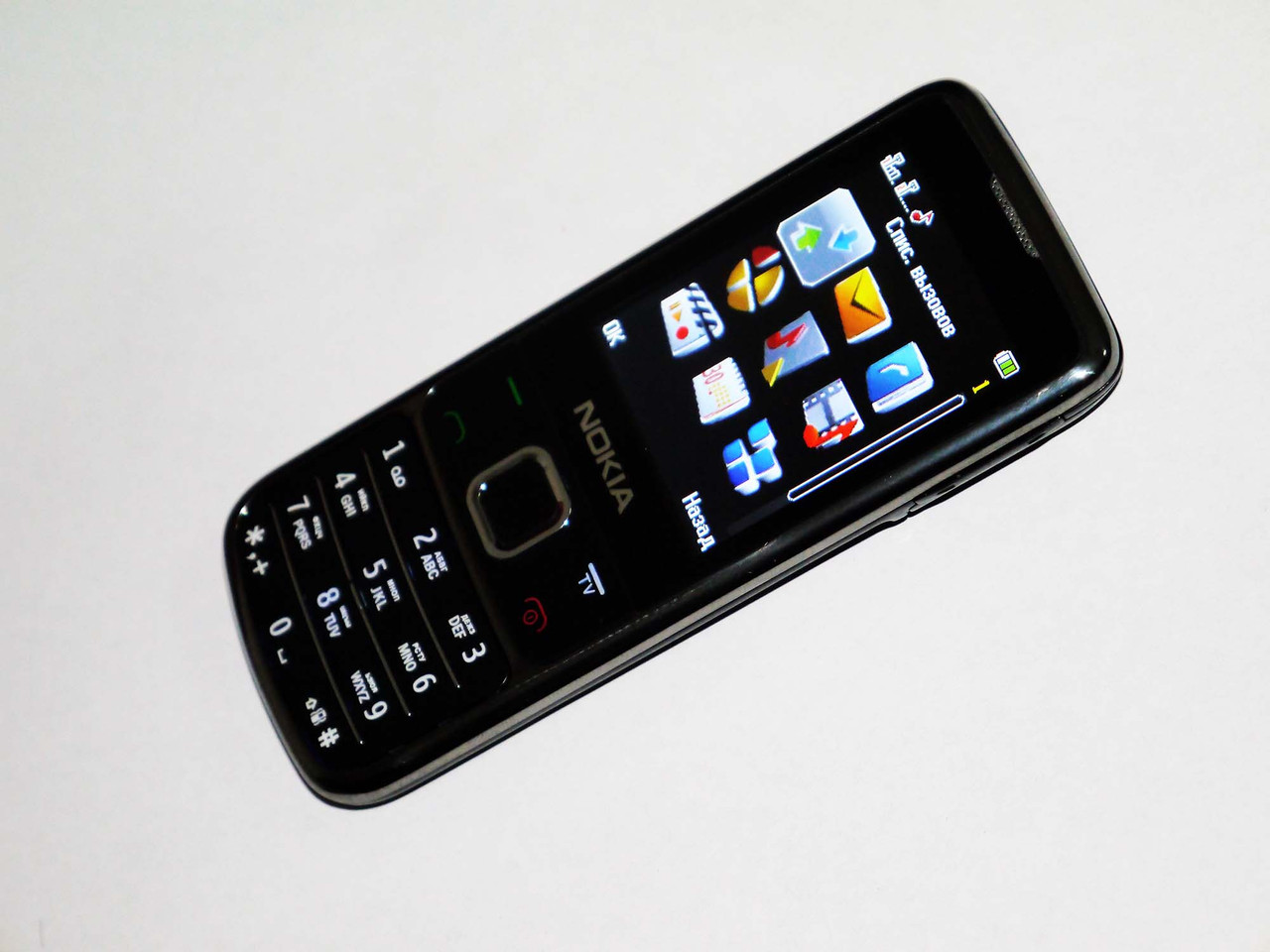 """Телефон Nokia 6700 TV (S356+) Черный - 2,2""""-2 sim - металлический корпус - стильный дизайн, фото 1"""
