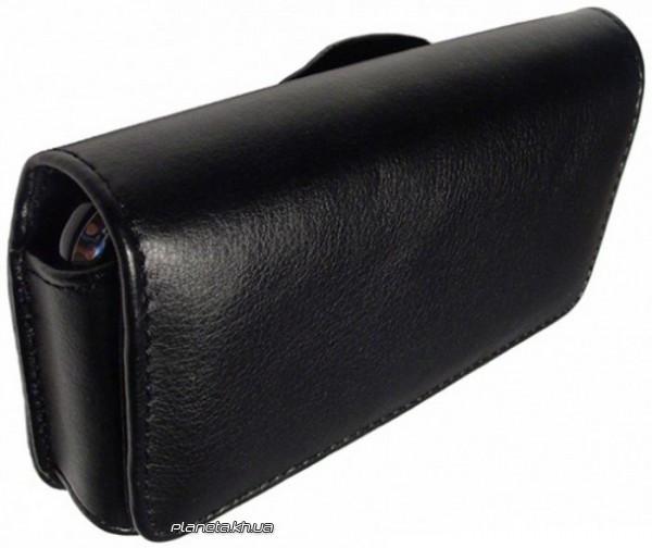 Флотар чехол на пояс для Samsung S5610 матовый черный L размер ( 11.5 на 6 см)