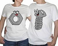 Парные футболки недорого