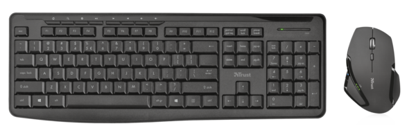 IT набор Trust Evo wireless keyboard with mouse ENG/RUS/UKR