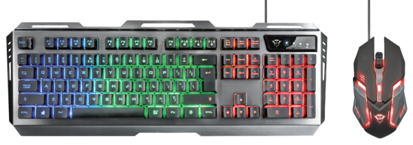 IT набор Trust GXT 845 Tural Gaming Combo