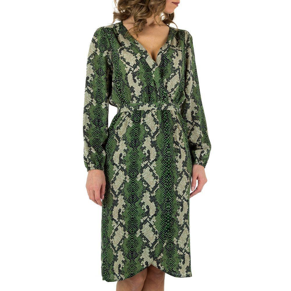 Женское платье от Voyelles, размер S/36 - green - KL-JW705-green S