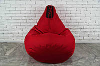 Бескаркасное Кресло мешок груша пуфик  XL (120х75) боксерская груша